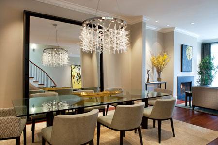 مدل هایی از مدرن ترین میز و صندلی غذاخوری