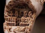 خلق آثار شگفت انگیز هنری روی دندان انسان + عکس