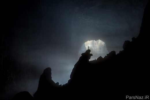 سرزمینی پهناور در اعماق زمین و شاهکار طبیعت + عکس