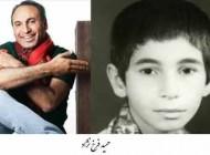 عکس های کم دیده شده از کودکی بازیگران سینما و تلويزیون