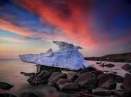 عکس های جذاب و خیره کننده از توده های یخ شناور