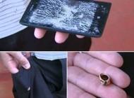 گوشی ضد گلوله از نوع هوشمند + عکس