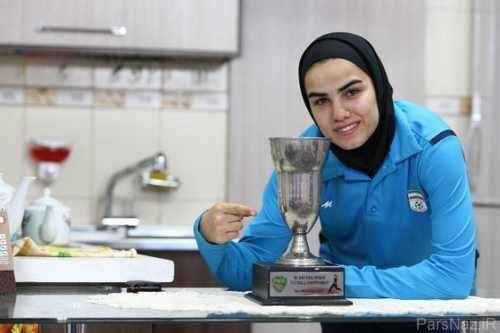 بازیکن تیم ملی فوتبال زنان ایران درميان ۱۰ بازیکن برتر فوتسال جهان