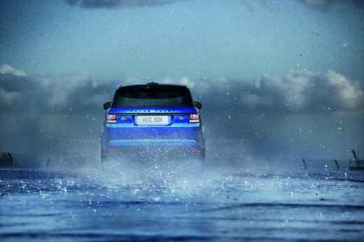 رونمایی رنجروور اسپرت SVR سریعترین شاسی بلند