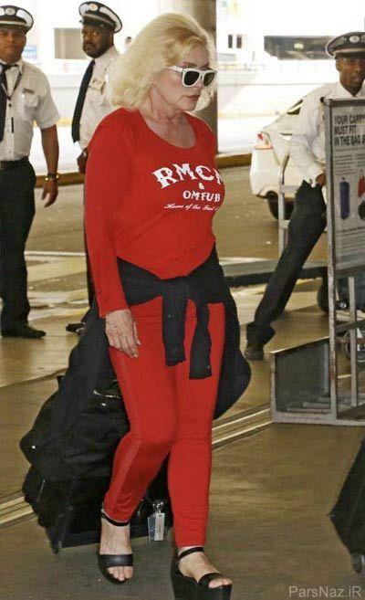 تناسب اندام حیرت انگیز دبی هری خواننده و بازیگر هالیوودی + عکس