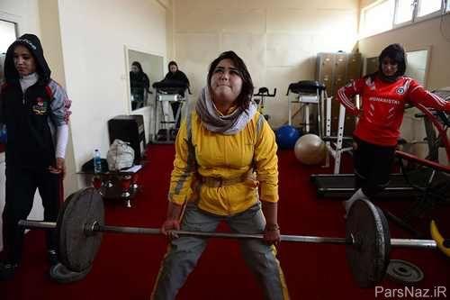دغدغه تناسب اندام و لاغری در زنان افغان + عکس
