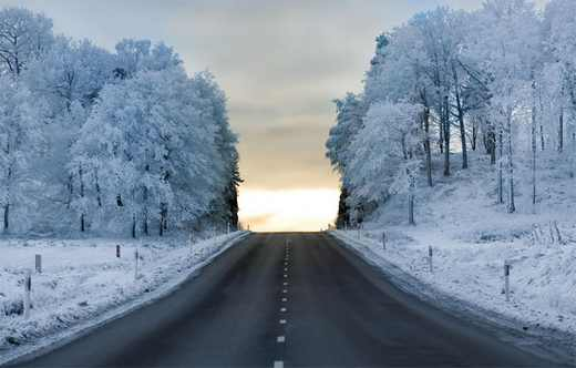 عکس های شگفت انگیز و خاص از طبیعت برفی فصل زمستان