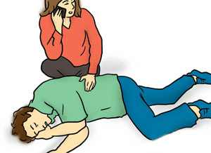 کمک های اولیه حیاتی برای شخصی که دچار شوک شده