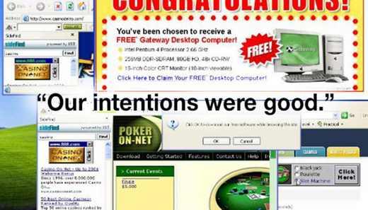 معذت خواهی مخترع تبلیغ پاپ آپ از دنیای مجازی