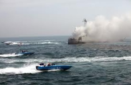 خبر جنجالی حمله آمریکاییها به قایق ایرانی + عکس