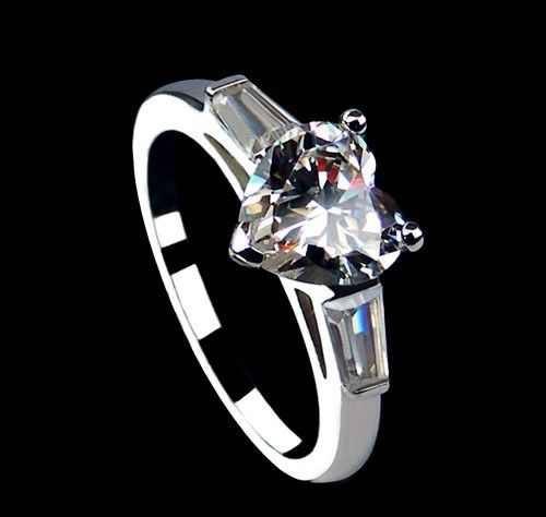عکس هایی از حلقه های عاشقانه طرح قلب