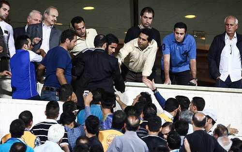 خبر جنجالی کتککاری شدید صادقی با فامیل قلعهنویی + عکس