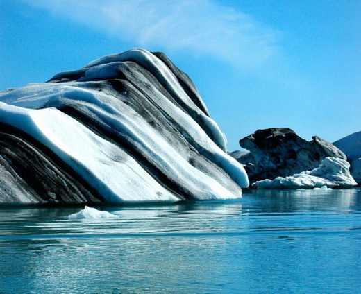 سری دوم از عکس های توده های یخ شناور قطبی