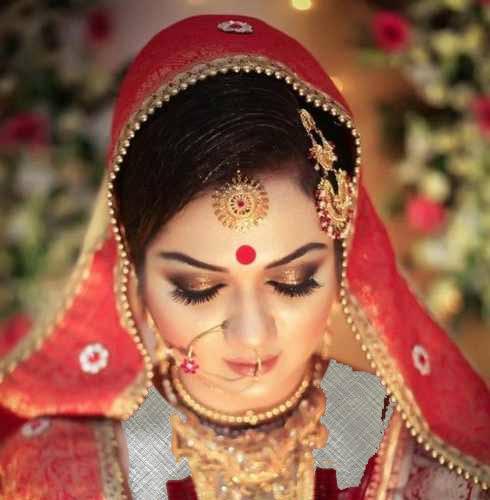 مدل های جذاب میکاپ عروس مدل هندی