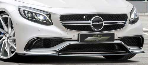 رونمایی نسخه ولتاژ دیزاین مرسدس بنز S63 AMG