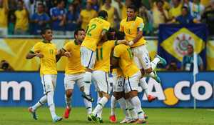 اتفاقی جالب و دیدنی در تیم ملی برزیل + ع