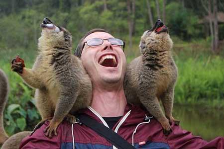 عکس نوشته های خنده دار و بامزه