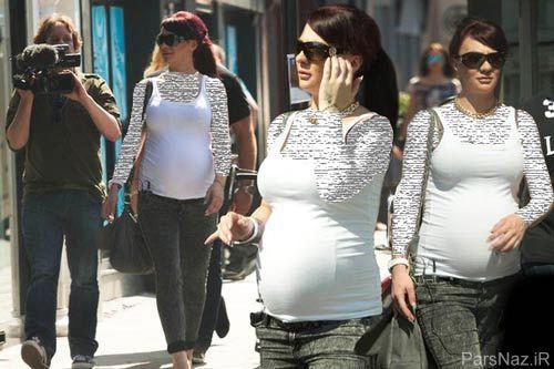 اظهار نظر احمقانه جوسی کانینگهام از دختردار شدنش + عکس
