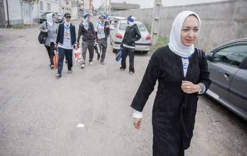 عکس های داغ و دیدنی نیکی کریمی در ماشین قلعه نویی