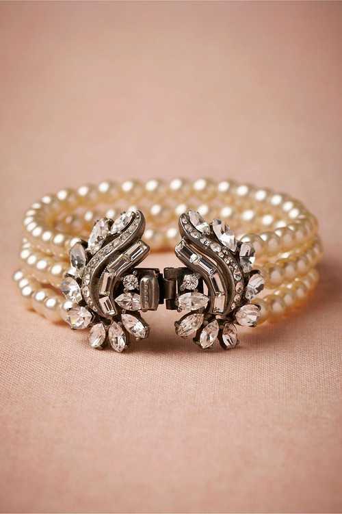 شیک ترین و زیباترین مدل دستبند عروس