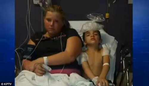 سگ بول داگ جان پسر 8 ساله را به طور عجیب نجات داد