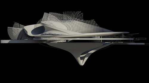 خانه ای مدرن که با جزر و مد برق تولید می کند + عکس