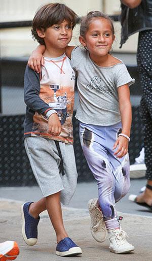 چهره بچه های سلبریتی ها و ستارگان معروف هالیوودی
