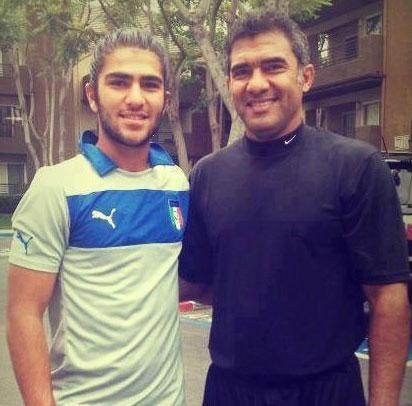 امیر عابدزاده در مورد پدرش می گوید + عکس