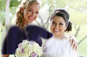 معرفی نخستین ساقدوش عروس حرفه ای در جهان + عکس