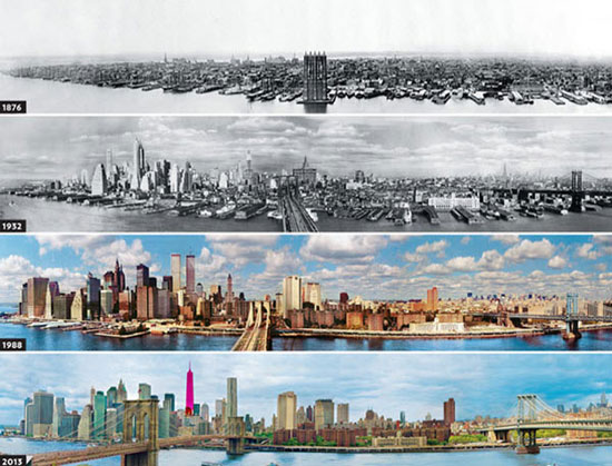 گزارش تصویری پیشرفت چشم گیر و دیدنی شهرهای بزرگ