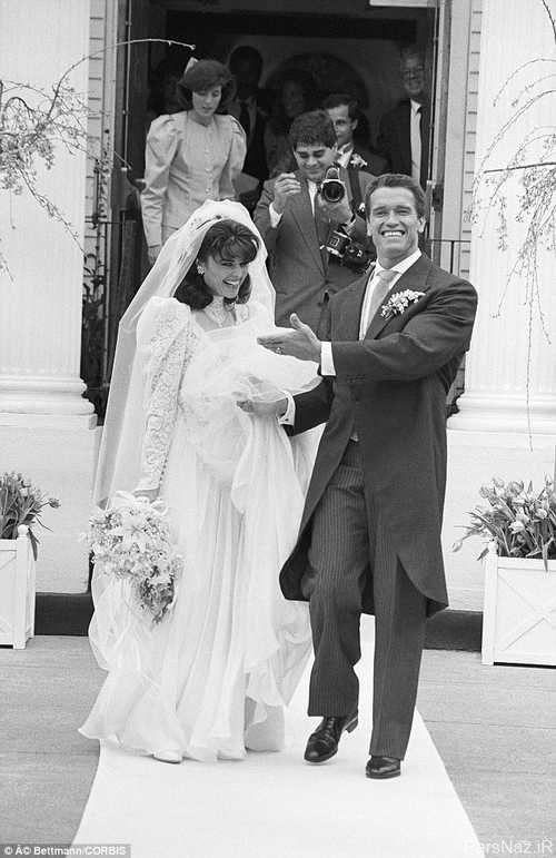 جزئیات طلاق جنجالی آرنولد شوارتزنگر مشهور و همسرش + عکس