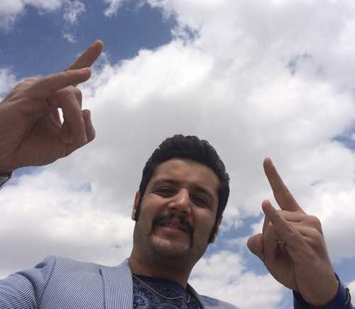 عکس های گلچین مهران رنجبر بازیگر آوای باران