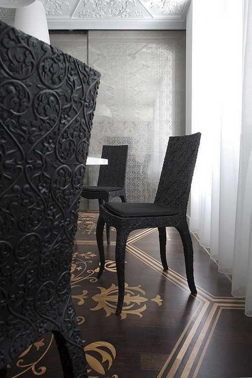 رونمایی مجلل خانه ای زیبا با دکوراسیون سلطنتی + عکس