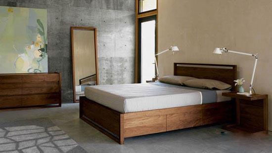 نمونه هایی از طراحی اتاق خواب آرامشبخش و ساده