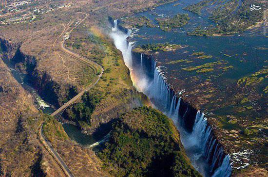 عكس هاي زيبا و ديدني آبشارهاي مرتفع دنيا،تصاويري زيبا از بلندترين آبشارهاي جهان