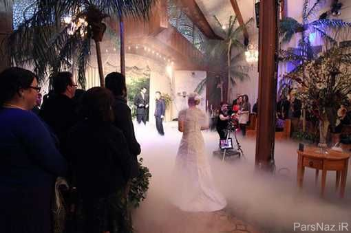 ازدواج دختر عجیب با شوهر مقوایی + عکس
