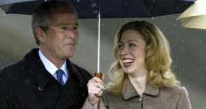 عکس جدید از نوه جدید هیلاری و بیل کلینتون