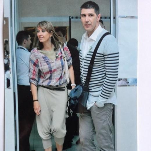عکس هایی از کواچ و همسرش والیبالیست سرشناس
