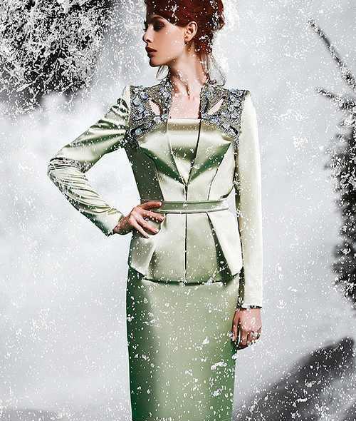 مدل لباس مجلسی بلند زنانه برند ترکیه