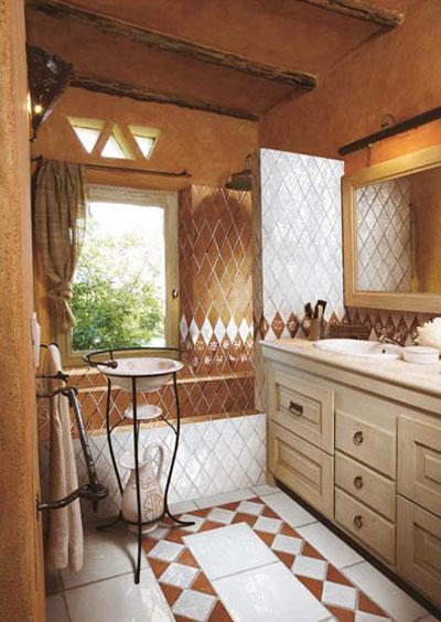 نمونه های زیبا از دکوراسیون حمام و سرویس بهداشتی