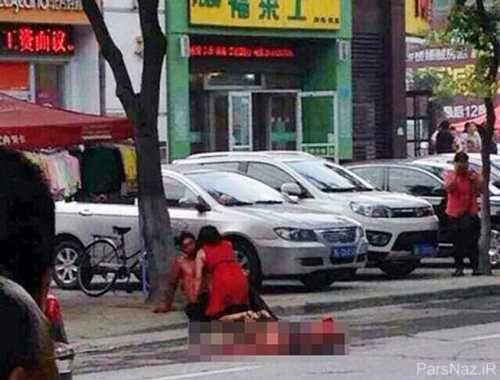 چشم چرانی که به درگیری خونین خیابانی ختم شد + عکس