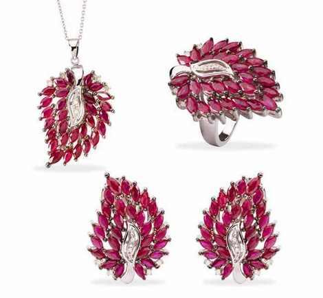 مدل ست جواهرات و زیورآلات برند خارجی
