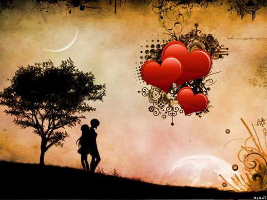 سری جدید و زیبا از والپیپر عاشقانه فانتزی