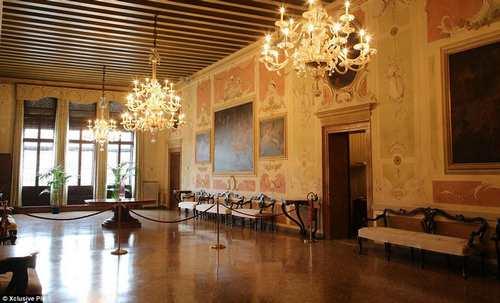 محل عروسی جورج کلونی و نامزد زیبایش در اخر این هفته + عکس