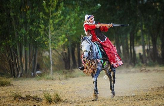 عکس های دیدنی از زندگی عشایر در چادگان اصفهان