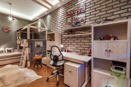 نگاهی بر دکوراسیون مدرن اتاق کودک دونفره