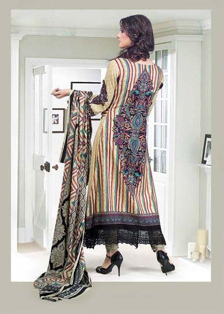 جدیدترین مدل لباس های پاکستانی رنگارنگ