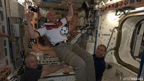 رونمایی جالب از ورزش تا فوتبال قهرمانی جهان در فضا
