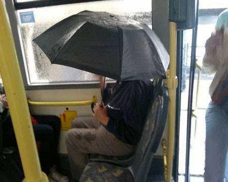 سوژه های طنز و باحال در اتوبوس