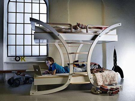 جدید و جالب ترین دکوراسیون تخت خواب کودکان